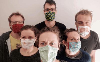 Maskenparade